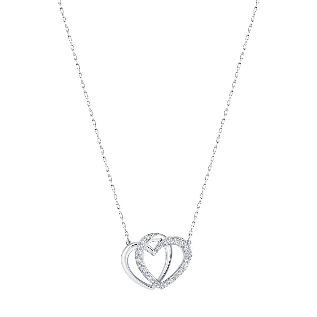 Swarovski Dear Necklace - Medium - White -