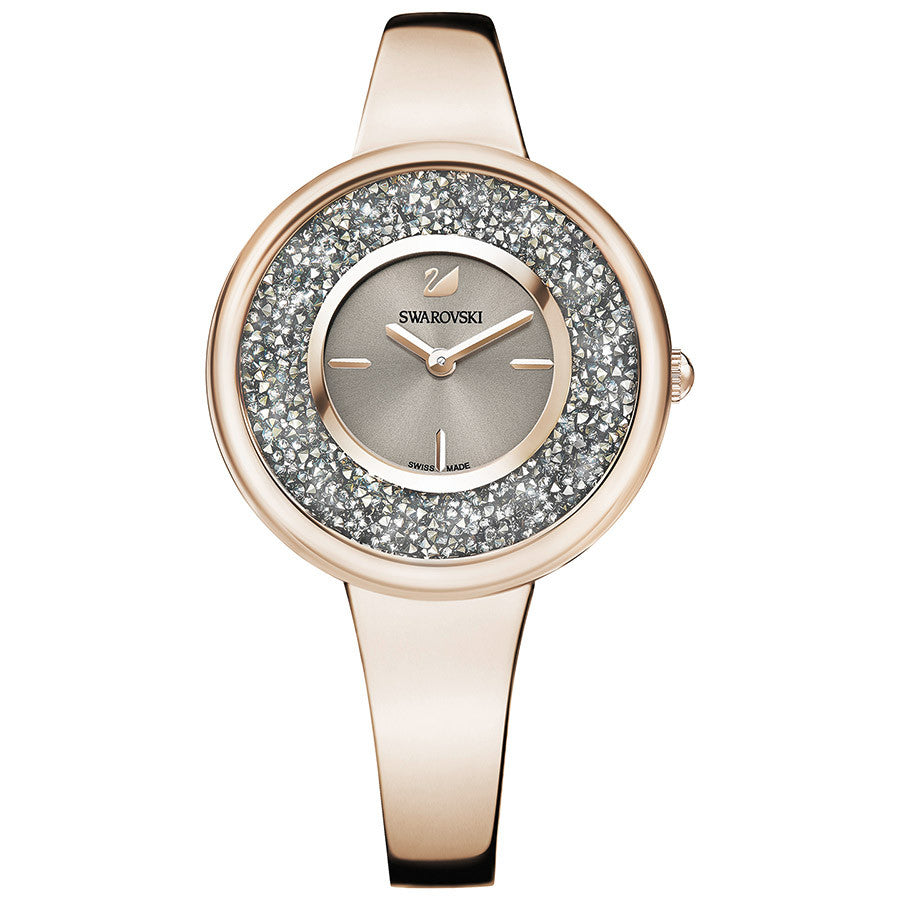 Swarovski Crystalline Pure Watch - Metal Bracelet - Champagne Gold Tone -