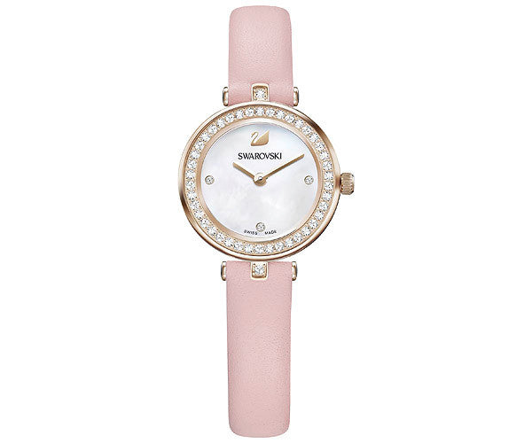 Swarovski Aila Dressy Mini Leather Ladies Watch