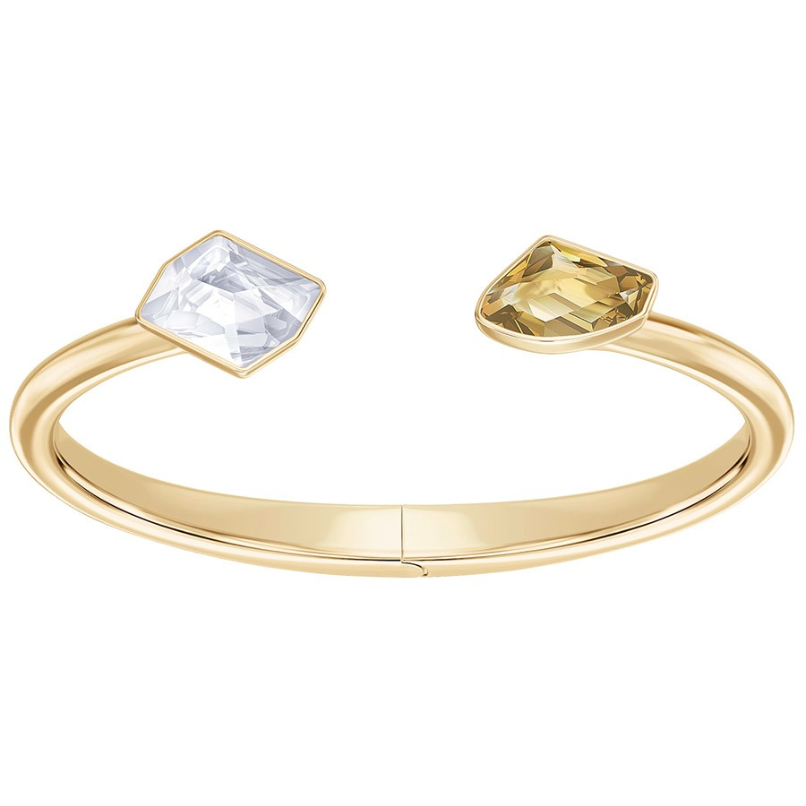 Swarovski Prisma Bangle - Gold Plating -