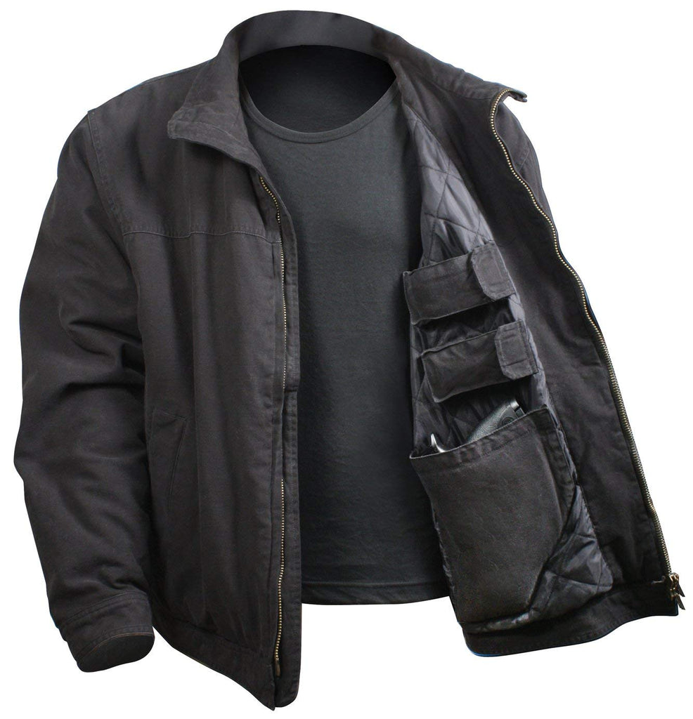 Rothco 3 Season Concealed Carry Jacket - Black - Large -