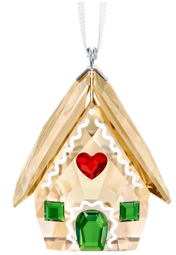 Swarovski Gingerbread House Figurine -