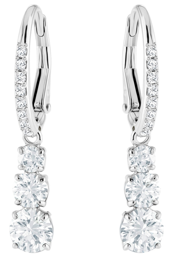 Swarovski Attract Trilogy Drop Earrings -