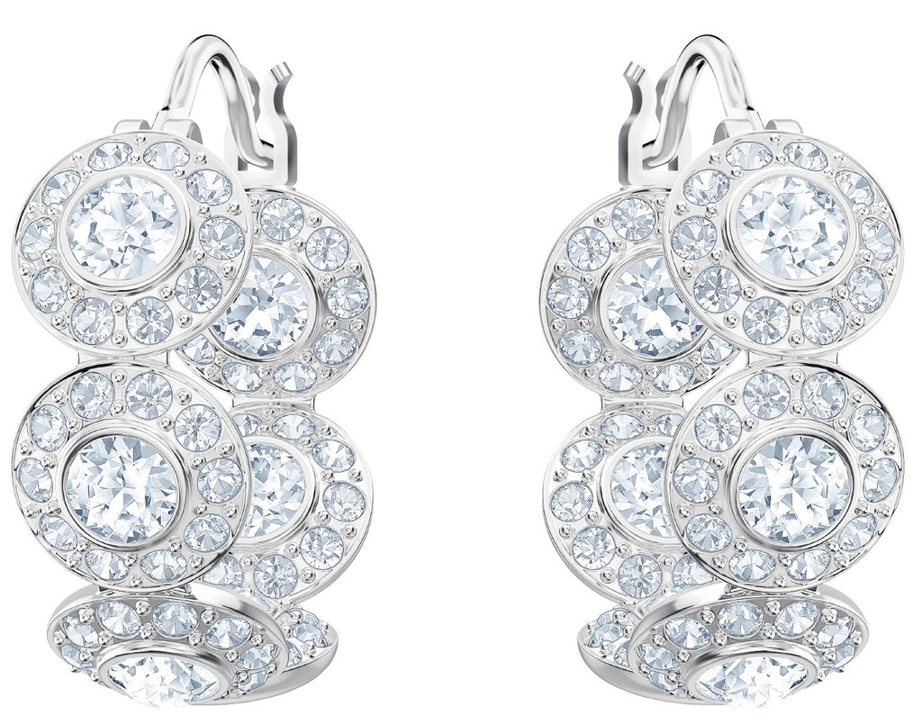 Swarovski Angelic Pierced Hoop Earrings -