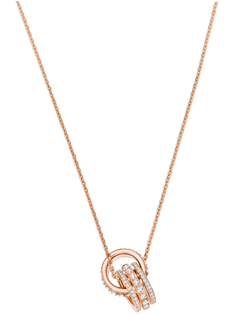 Swarovski Further Pendant Double Necklace -