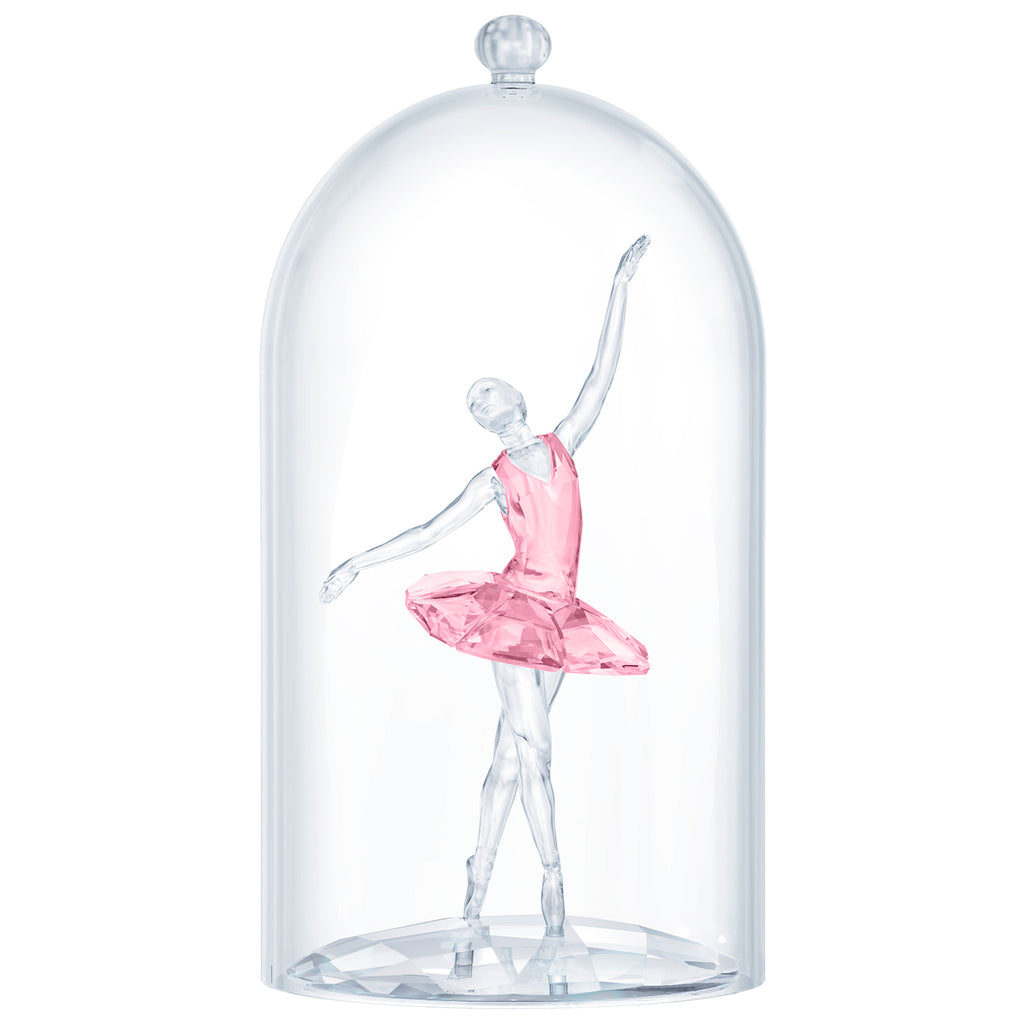 Swarovski Crystal Ballerina Under Bell Jar