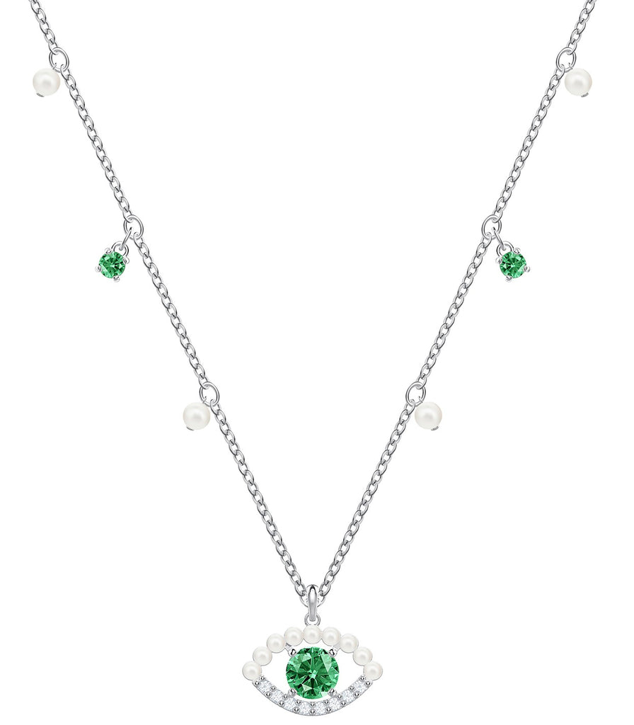 Swarovski Luckily Necklace Pearl -
