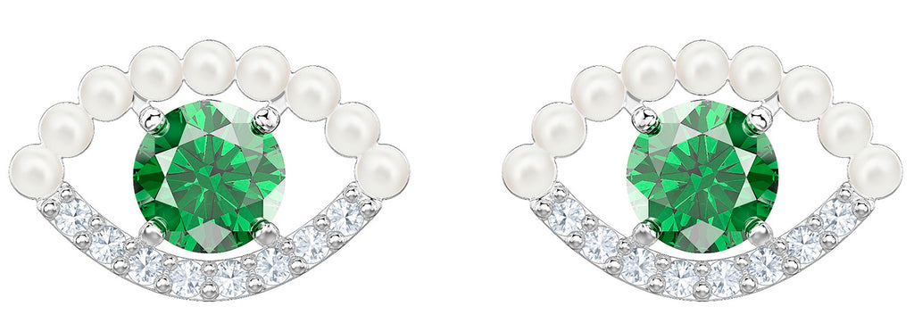 Swarovski Luckily Pierced Earrings -
