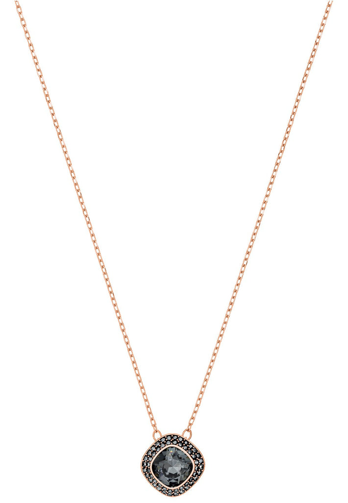 Swarovski Lattitude Rose Gold-Plated Pendant -