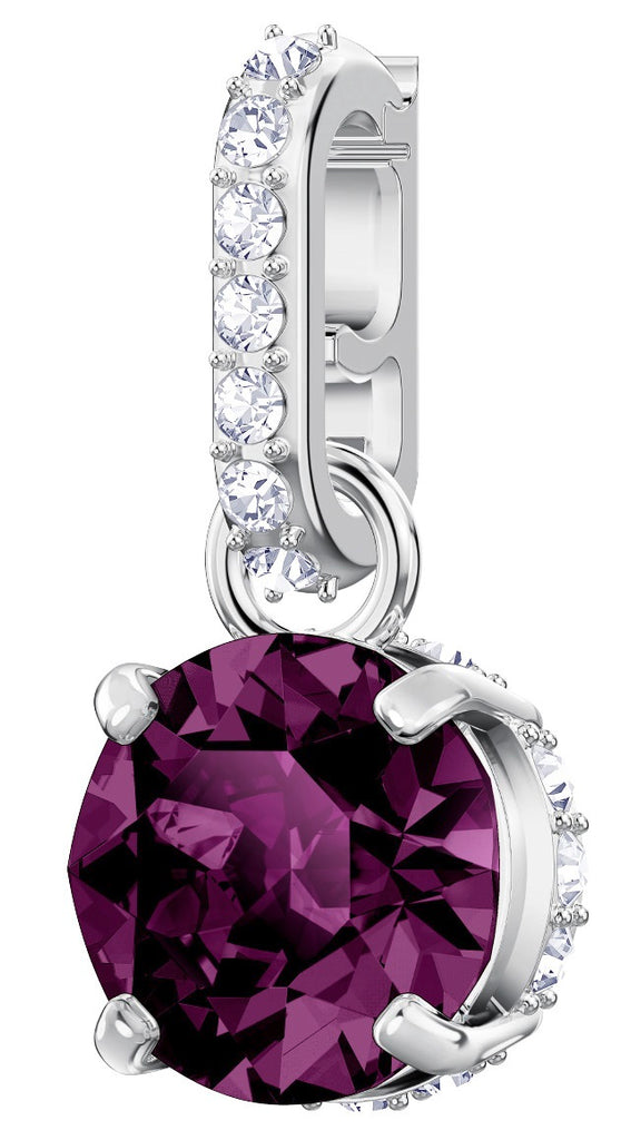 Swarovski Remix Purple Birthstone February Charm -