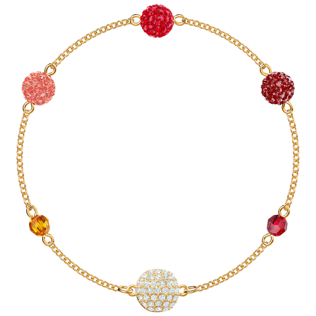Swarovski Remix Collection Pop Strand - Multi-colored - Gold Plating