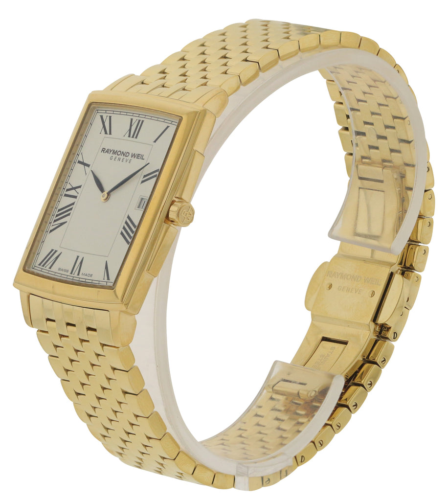 Raymond Weil Tradition Gold-Tone Mens Watch