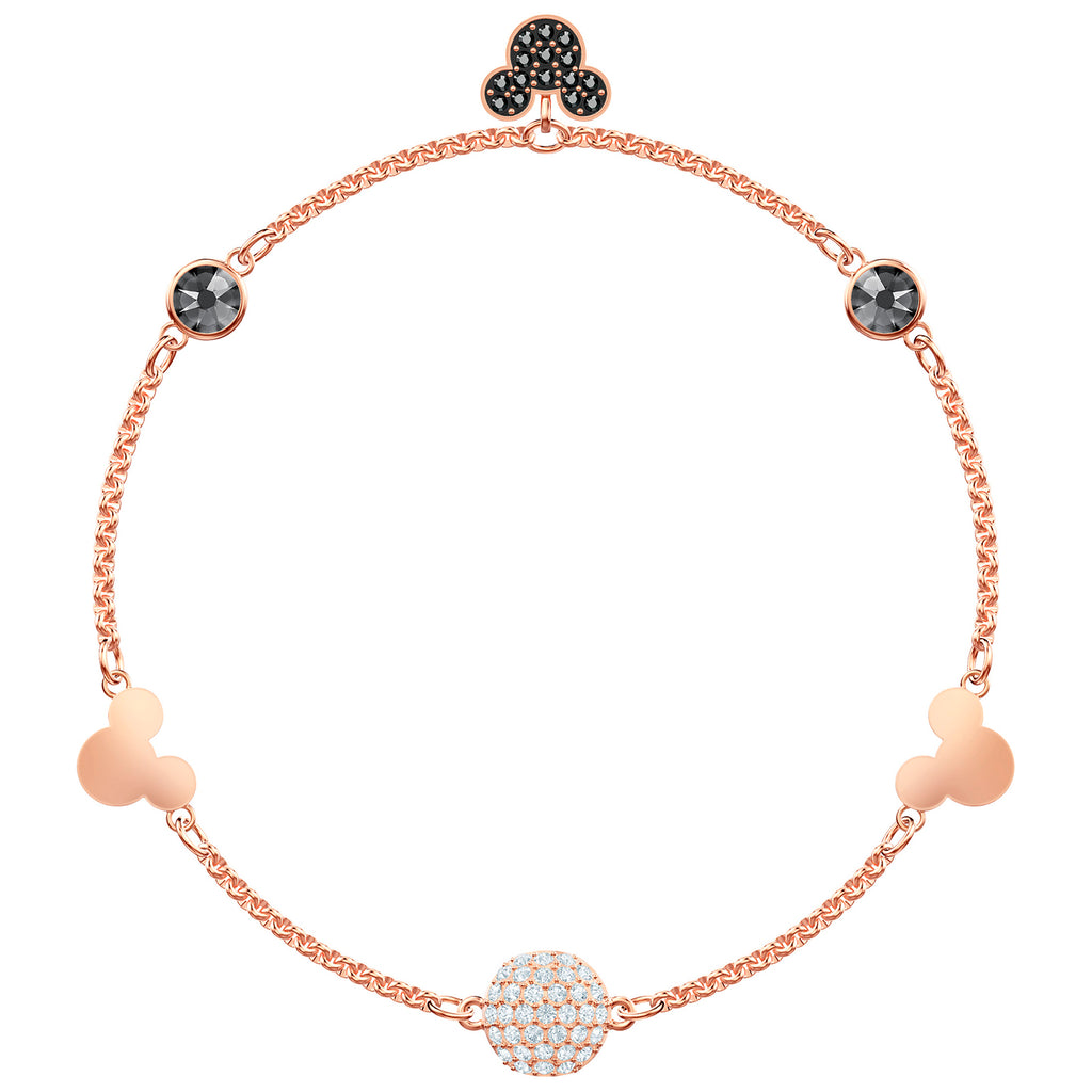 Swarovski Remix Collection Mickey Strand - Multi-coloured - Rose Gold Plating
