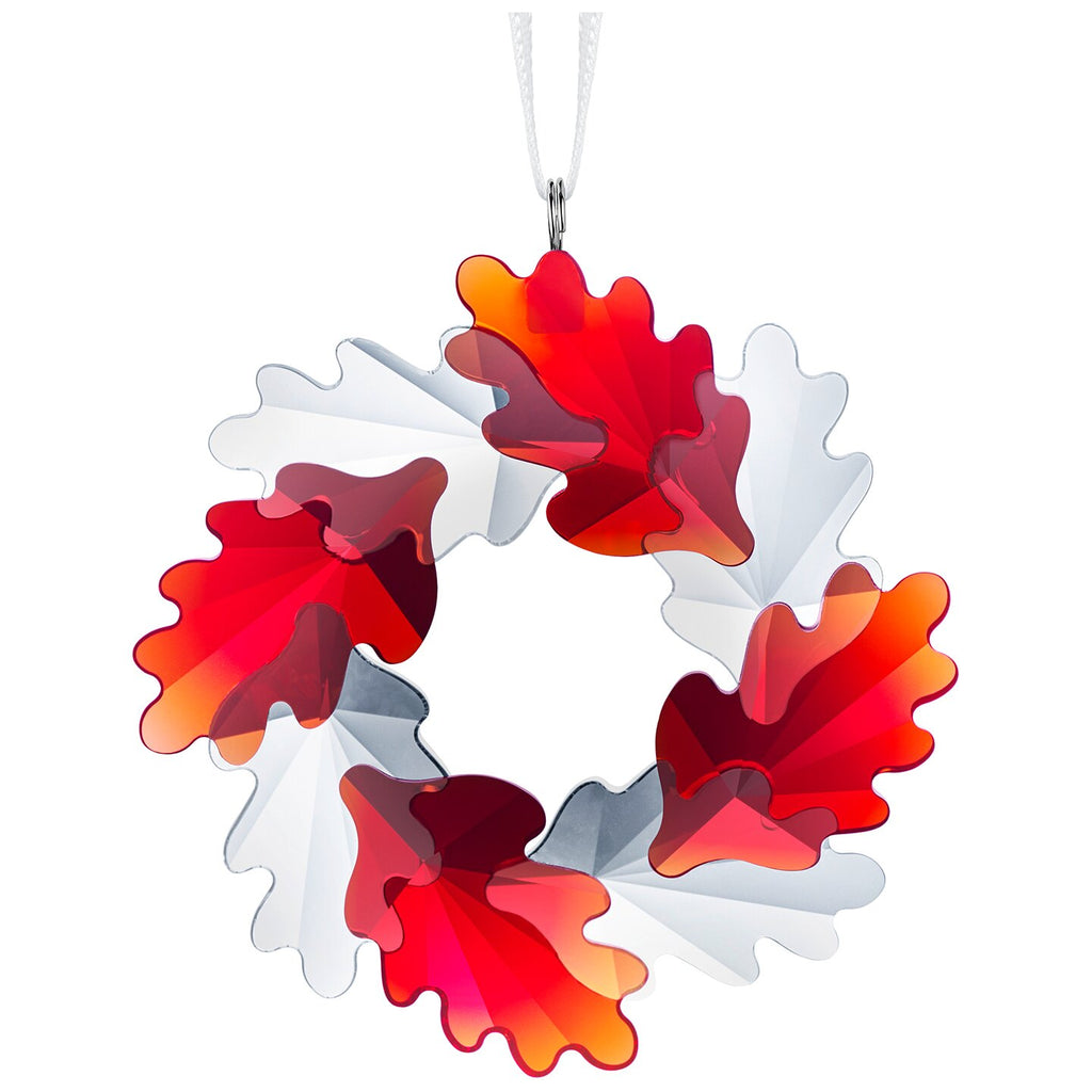 Swarovski Wreath Ornament Leaves