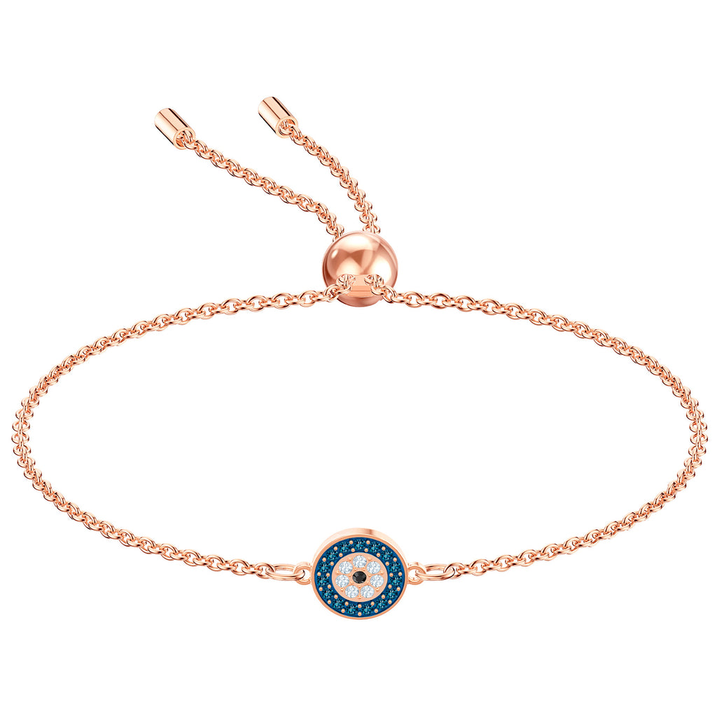 Swarovski Luckily Bracelet - Multi-coloured - Rose Gold Plating