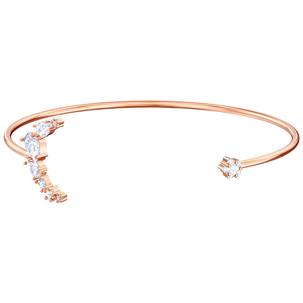 Swarovski Penelope Cruz Moonsun Cuff - White - Rose-gold Tone Plated -