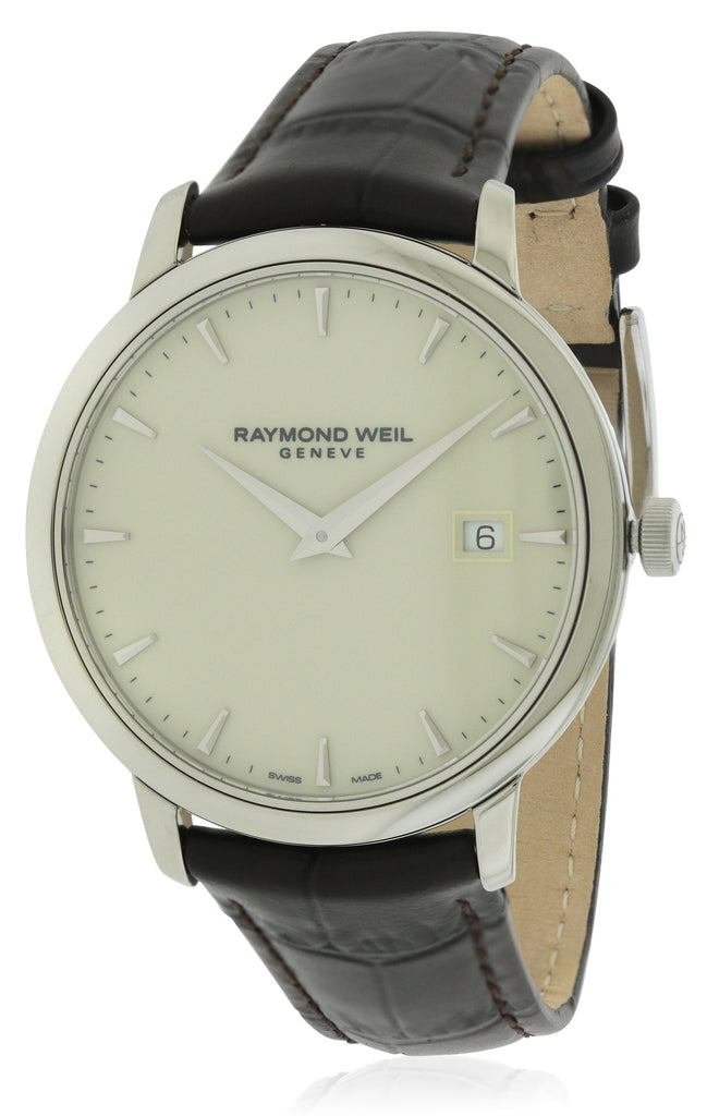 Raymond Weil Toccata Leather Mens Watch