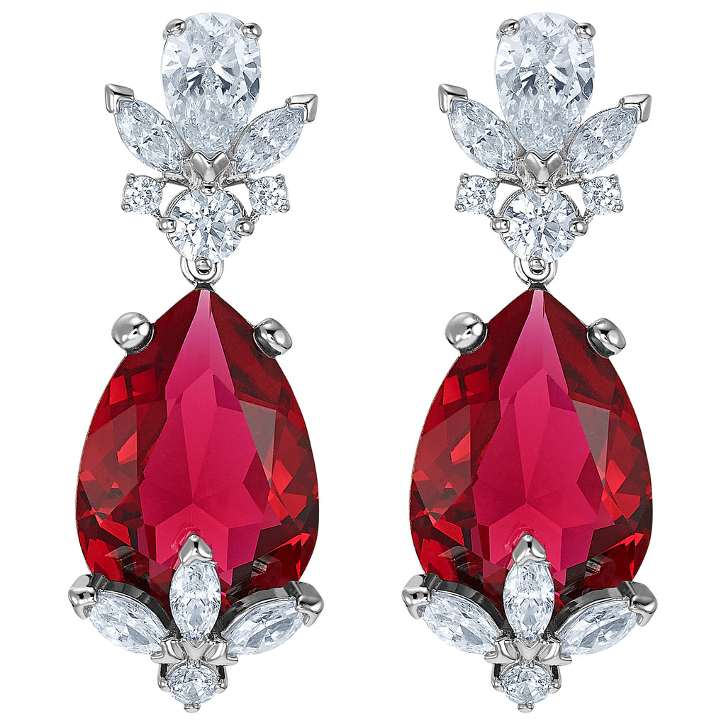 Swarovski Louison Drop Pierced Earrings