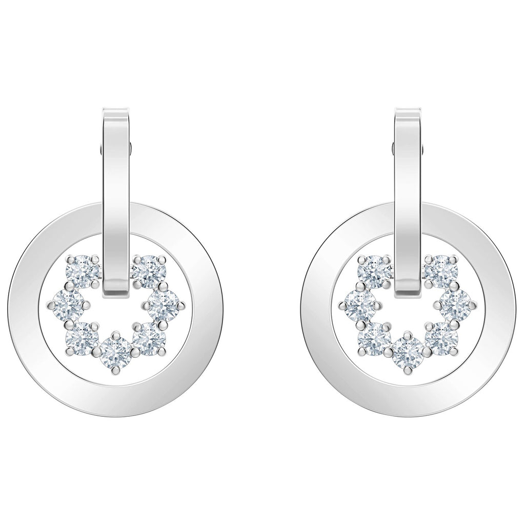 Swarovski Further Drop Pierced Earrings -