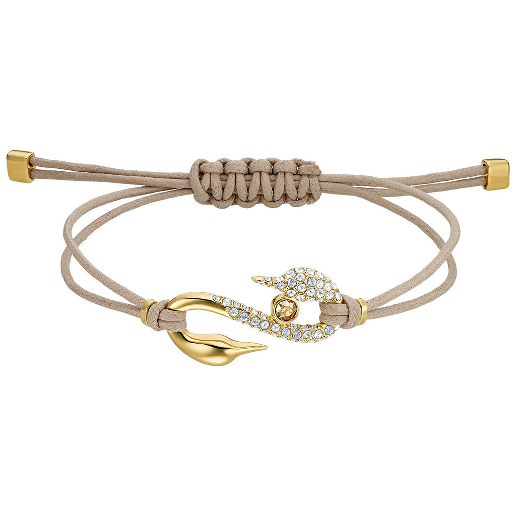 Swarovski Power Collection Bracelet - Brown - Gold-tone Plated