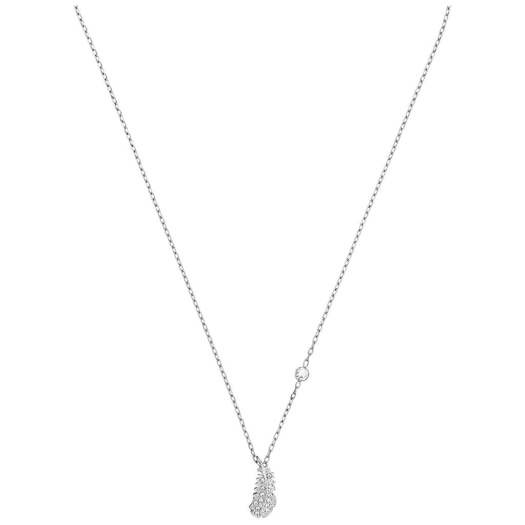 Swarovski Naughty Necklace - White - Rhodium Plated -