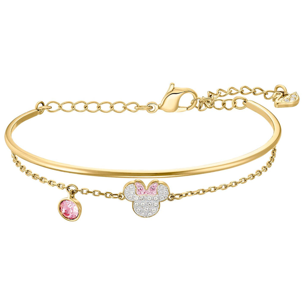 Swarovski Mickey & Minnie Bangle