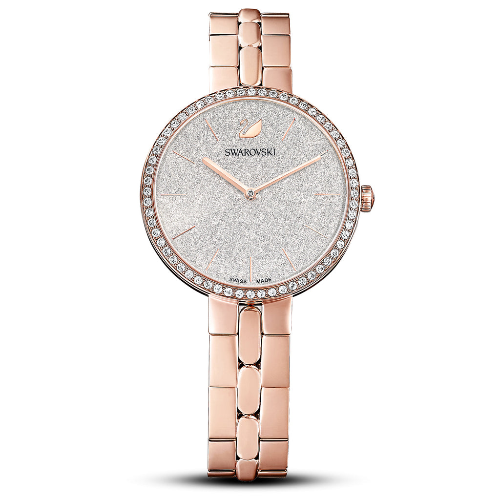 Swarovski Cosmopolitan Rose Gold-tone PVD Ladies Watch -
