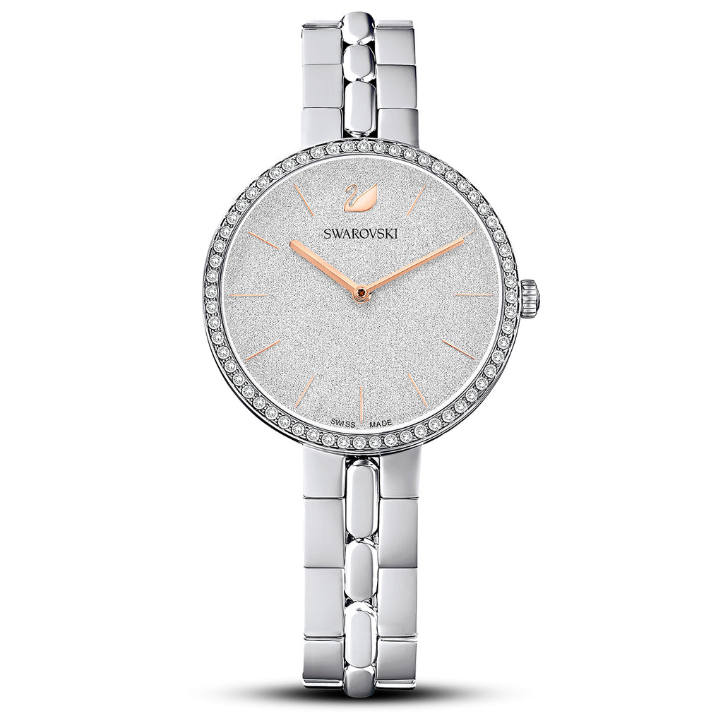 Swarovski Cosmopolitan Watch - Metal bracelet - White - Stainless steel