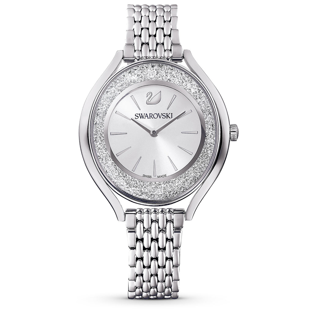 Swarovski Crystalline Aura Silver-tone Ladies Watch -