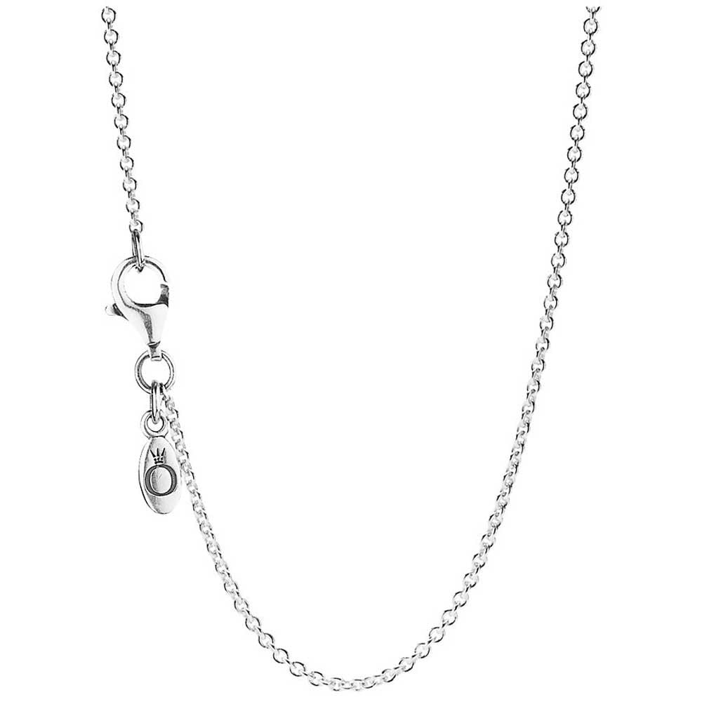 PANDORA Sterling Silver Chain Necklace - Adjustable -