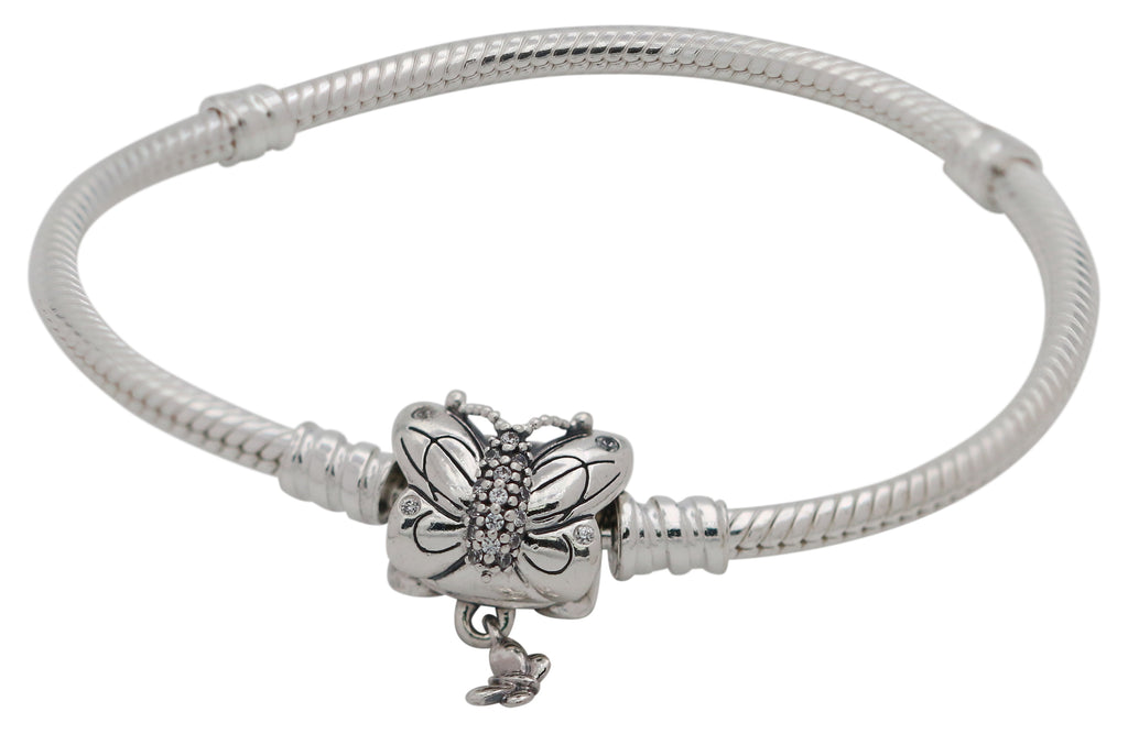 PANDORA Decorative Butterfly Braclet - 17
