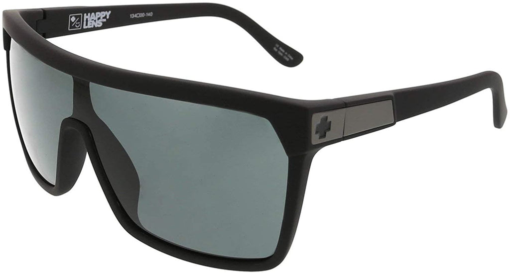 Spy Optic Flynn Soft Matte Black/Hd Plus Gray Green