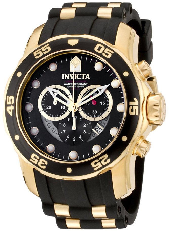 Invicta Pro Diver Swiss Chronograph Mens Watch