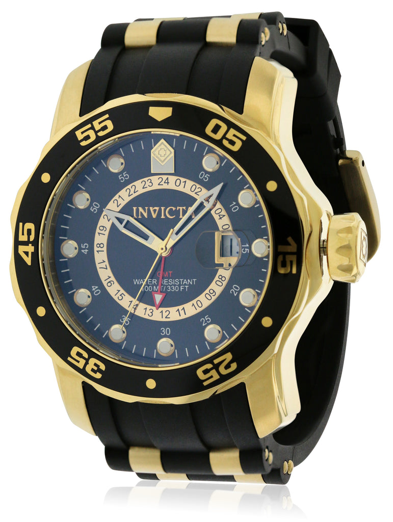 Invicta Pro Diver GMT Polyurethane Mens Watch