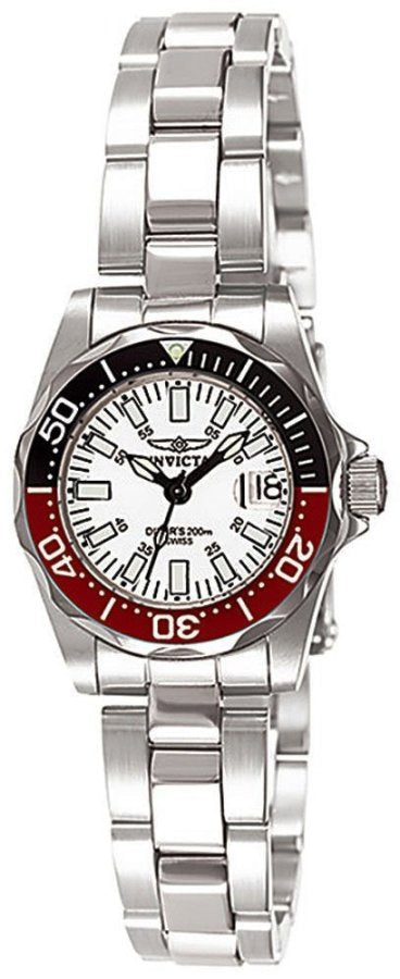 Invicta Stainless Steel   Pro Diver Ladies Watch