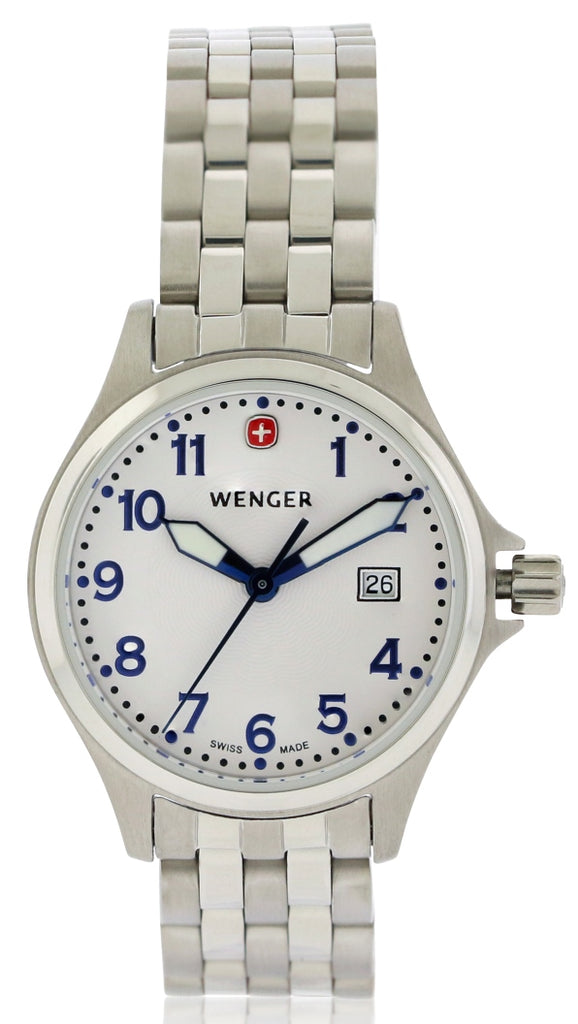 Wenger TerraGraph Stainless Steel Ladies Watch
