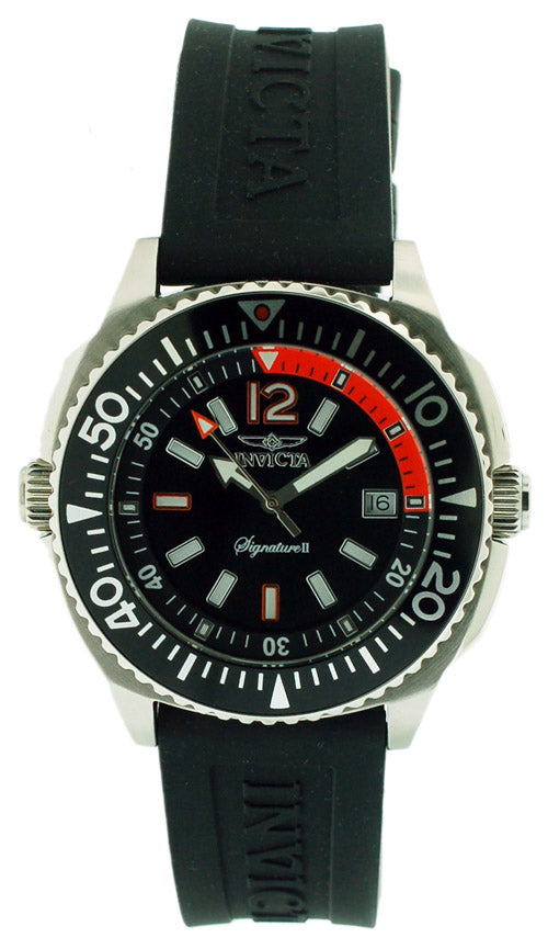 Invicta Signature II Sport Ruber Mens Watch
