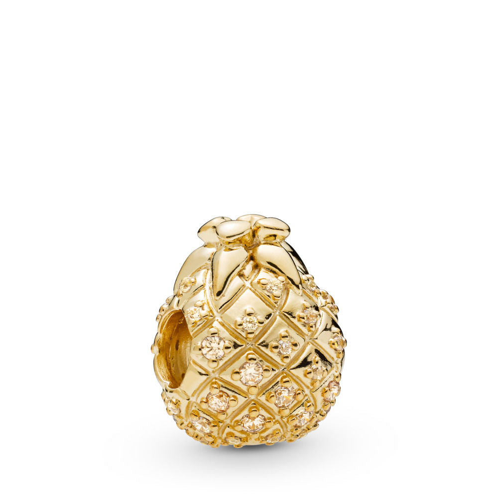 PANDORA Golden Pineapple Charm