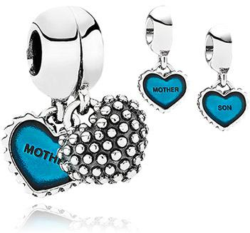 Pandora Mother & Son Pendant Charm -