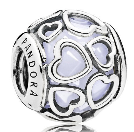 Pandora Opalescent Encased in Love Charm -