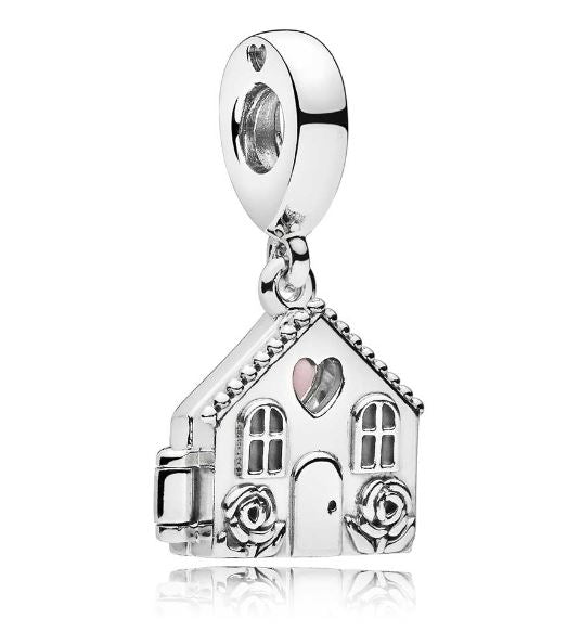 PANDORA Perfect Home Enamel Dangle Charm