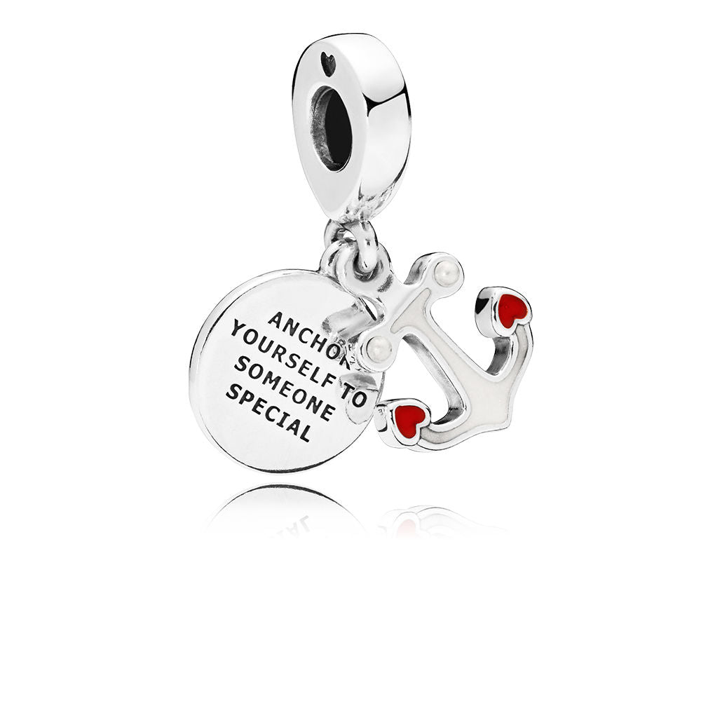 PANDORA Anchor of Love Dangle Charm