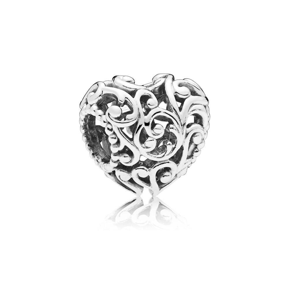 PANDORA Regal Heart Charm -