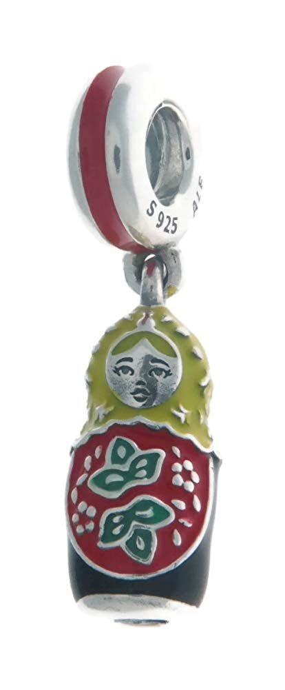 PANDORA Matryoshka Doll Dangle Charm