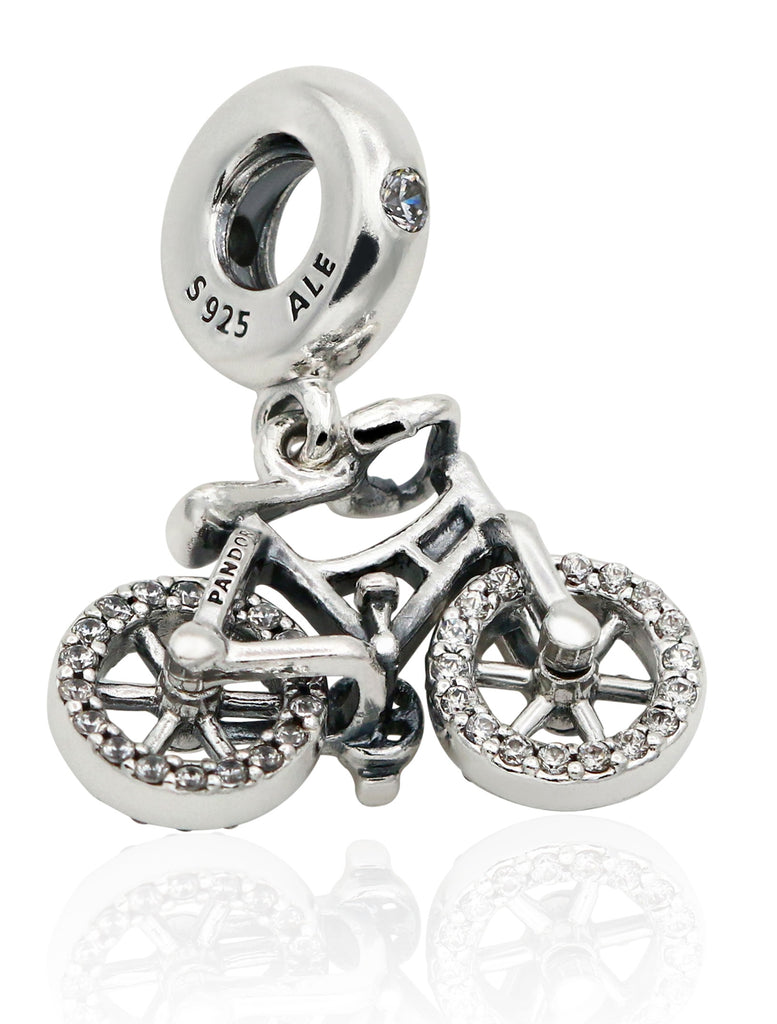 PANDORA Brilliant Bicycle Dangle Charm