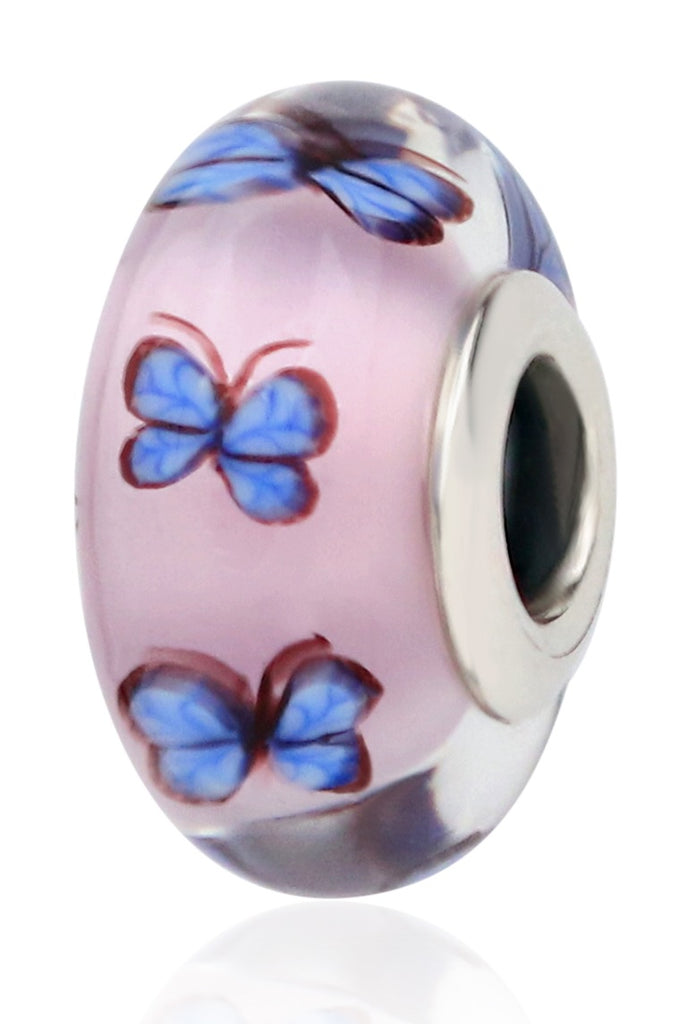 PANDORA Butterfly Glass Charm