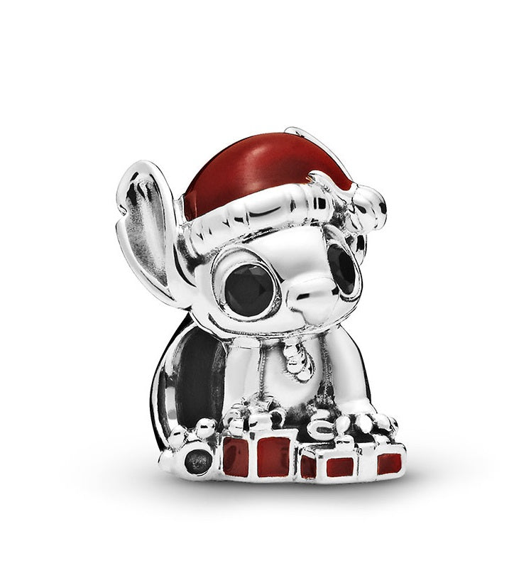 Pandora Disney Stitch Christmas Charm -