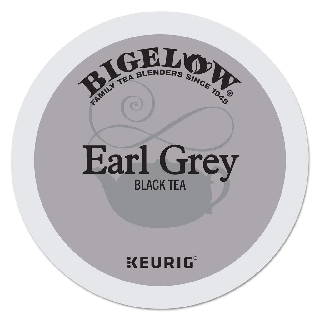 Bigelow Earl Grey Tea 24-Count K-Cup Portion Pack for Keurig Brewers