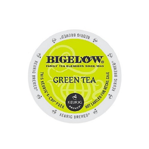 Bigelow K-Cup for Keurig Brewers Green Tea 24 Count 0.12 Oz (Pack of 4)
