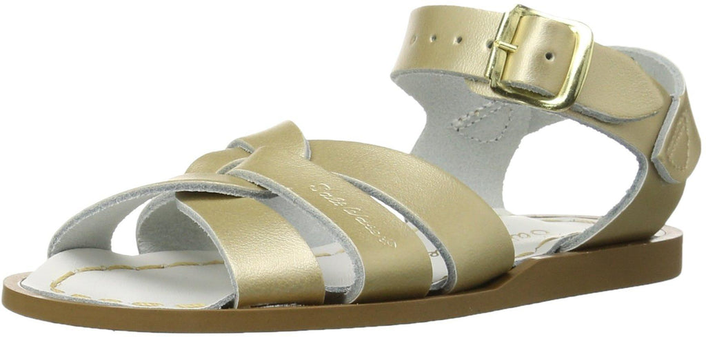 Salt Water Sandals by Hoy Shoe Original Sandal - Gold - Toddler 7 -